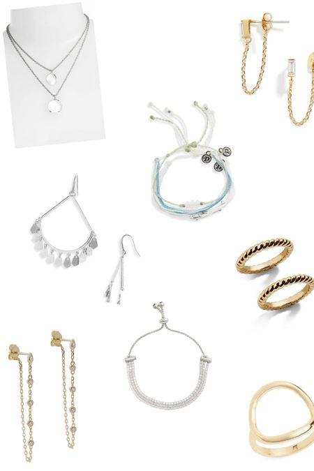 Nordstrom jewelry sale. Som great pieces, can't wait to get them in! http://liketk.it/3fN5X @liketoknow.it #liketkit #LTKsalealert #LTKunder50 #LTKstyletip