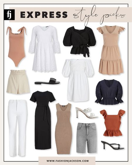 Save on my Express style picks during the LTK Day sale! #summerdress #whitedress #summertops #maxidress #fashionjackson http://liketk.it/3hjdx #liketkit @liketoknow.it #LTKDay #LTKsalealert #LTKunder100