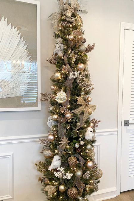Love this sweet little pencil Christmas tree😍 only $50! Comes with lights on it as well. Super easy to put up .. took me 5 minutes. http://liketk.it/31PMV #liketkit @liketoknow.it