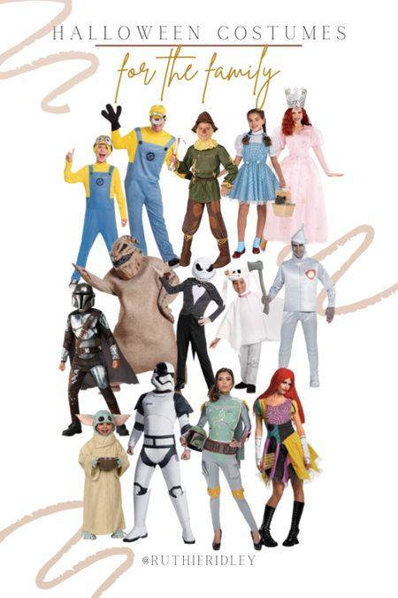 Halloween Costumes for the Family!   #LTKHoliday #LTKfamily #LTKSeasonal