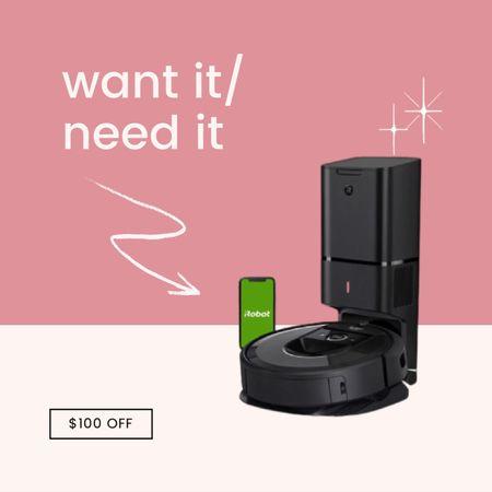 Get $100 off the automated sled-emptying roomba - aka your own robot house maid. #christmas #ltkchristmas #blackfriday  #LTKhome #LTKsalealert #LTKfamily