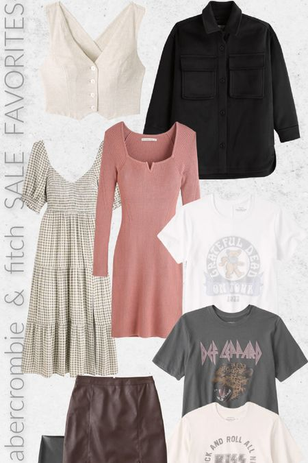 Are you loving the Abercrombie & Fitch sale going on right now?! Here's some of my favs!   #LTKunder50 #LTKSeasonal #LTKSale