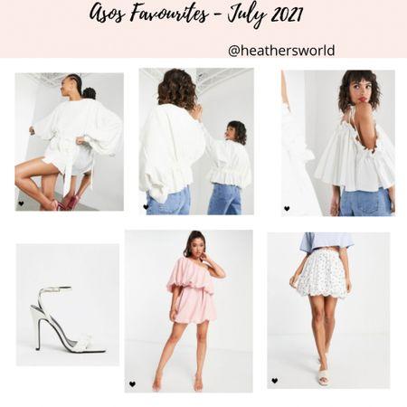 ASOS Favourites - July 2021   #lkit #asos #dress #skirt #blouse #aspsdesign