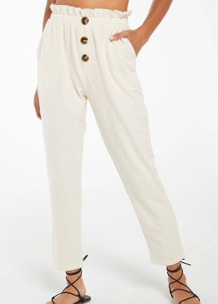 Comfiest joggers. Wearing a small, could have worn an XS. Just depends on how fitted you want them to be. #ltksummer #ltkfall #transitionoutfitideas #joggers #zsupply #neutrals #casualoutfits #ootd #ootdinspo #affordablefashion #momstyle    #LTKtravel #LTKstyletip #LTKunder100