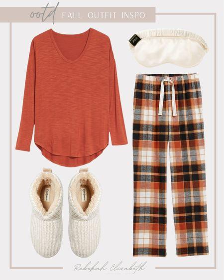 Plus size fall loungewear 🍂🍁 #rebekahelizstyle  #LTKhome #LTKcurves #LTKunder50