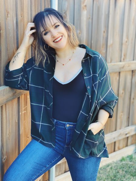 The coziest flannel and the perfect fall lip! 💋   #LTKFall #StayHomeWithLTK #LTKbeauty