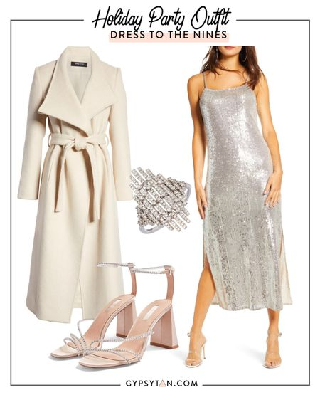 Holiday party outfit Holiday Work party  Sequin dress NYE party  http://liketk.it/2Ic52 #liketkit @liketoknow.it