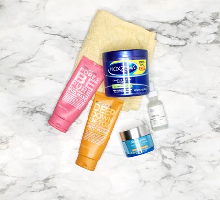 Some of my fave skincare products that I use on my oily skin #noxzema #skincare  #LTKbeauty