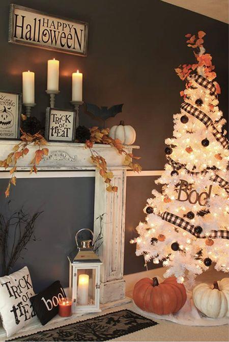 Halloween trees and pumpkins please 🎃🍂🎶  #LTKfamily #LTKSeasonal #LTKhome
