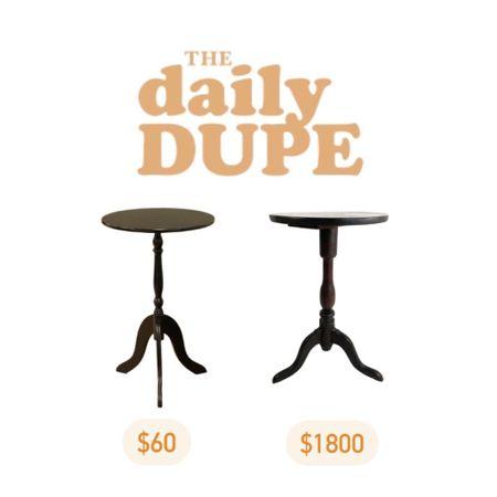 Side Table, End Table, Vintage, Antique Furniture, Daily Dupe http://liketk.it/3jJBj #liketkit @liketoknow.it