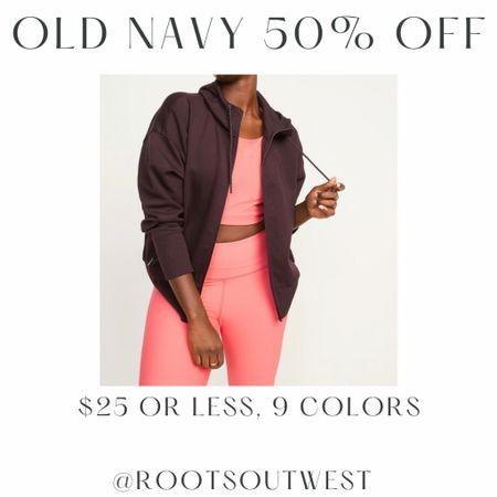 Zip hoodie jacket   #LTKsalealert #LTKstyletip #LTKfit