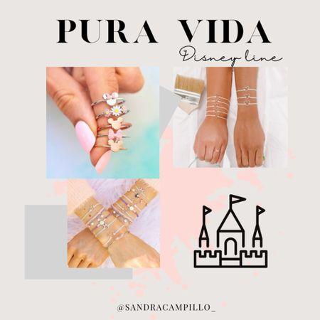 So excited to see that Pura Vida now has a Disney line! 👏🏼 Check out how cute!  #Disneyjewelry #PuraVidaDisney PuraVidaBracelets #artisanjewelry