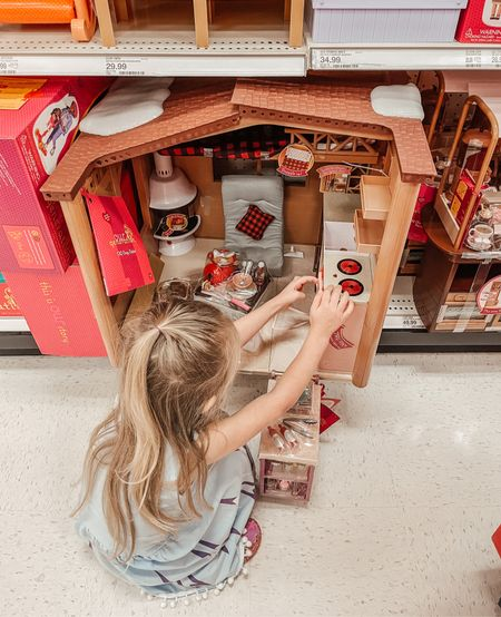 I asked Catalina to show me things at Target she wanted for her birthday and this Our Generation doll house cabin was at the top of the list! I'm so glad that she loves dolls 💕   #LTKGiftGuide #LTKkids #LTKHoliday