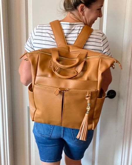 Check out this cute bag! I literally use it for everything. It's totally versitile and can fit everything I need for myself and my kids when I'm out and about. http://liketk.it/2TOve #liketkit @liketoknow.it #LTKstyletip #LTKsalealert #LTKitbag You can instantly shop all of my looks by following me on the LIKEtoKNOW.it shopping app