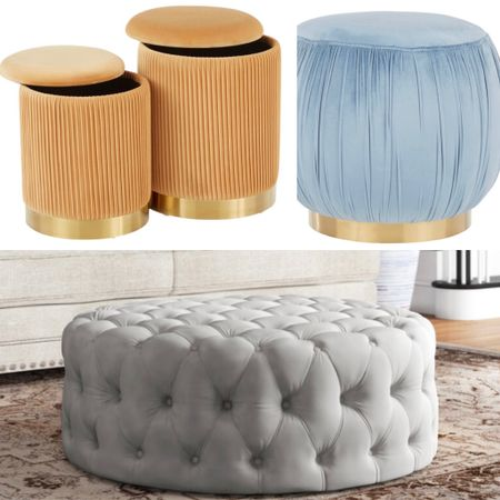Memorial Day Sale— we love ottomans and they add fun and interest to any room , not even mention their functionality.   #LTKhome #LTKsalealert