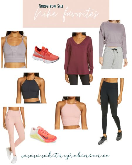 Nordstrom Half Year Sale- Nike favorites http://liketk.it/3gijq @liketoknow.it @liketoknow.it.family #liketkit #LTKDay #LTKsalealert #LTKfit   Athleasure Workout clothes Sneakers Tennis shoes Running shoes Leggings Workout leggings  Yoga  Yoga clothes  Shorts Memorial Day Beach vacation Crop top Workout crop tank