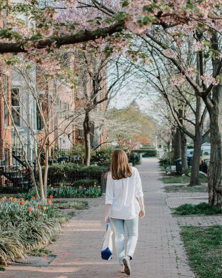 Walking in a wonderland of blooms 🌸   #dclife #theeverygirltravels #dcblogger #igdc #acreativedc @igdc #walkwithlocals @visitwashingtondc #gglocalgems #mydccool  #capitolhill #dcbloggers #washingtondc #createcultivate #thehillishome #lonnyliving #igdc #mytinyatlas #postcardplaces #travelandleisure #iwalkedthisstreet #peakbloom #cherryblossom #cherryblossomdc @liketoknow.it #liketkit http://liketk.it/3cfqp #LTKSpringSale #LTKunder100