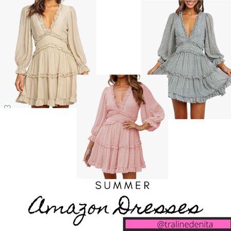 Summer Dresses from Amazon! #summerdresses #amazonfashion #summerout #amazon http://liketk.it/3i1I3 #liketkit #LTKunder100 #LTKstyletip #LTKsalealert @liketoknow.it Screenshot this pic to get shoppable product details with the LIKEtoKNOW.it shopping app