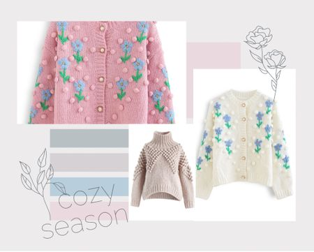 Look no more! The prettiest and coziest cardigans are over at Chicwish😍 #sweaterweather #sweater #jumper #cardigan #floral #knit #handknit #embroidered #femine #girlystyle  #LTKGiftGuide #LTKunder100 #LTKsalealert