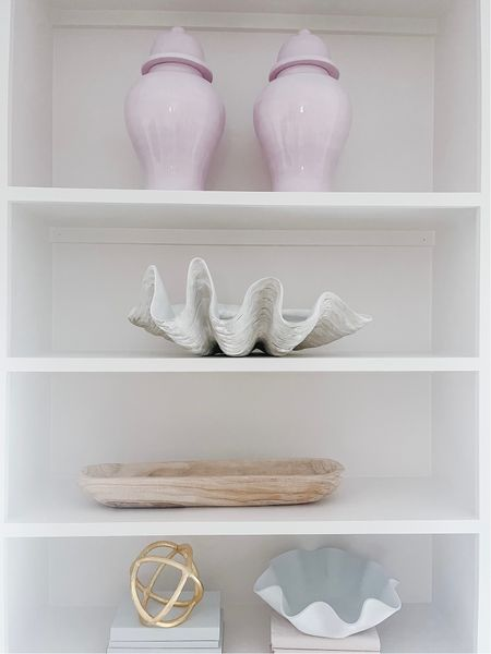 Clamshell decor on sale!   #LTKhome