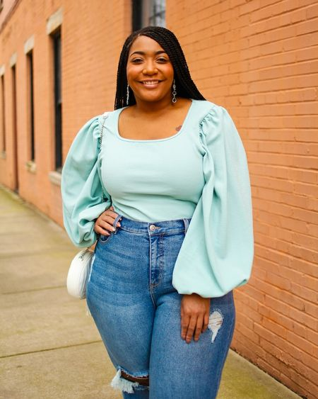 Hey Curvies!!! I think I have found a similar mint green top! Grab it now for only $16!!! http://liketk.it/2Mmnb @liketoknow.it #liketkit