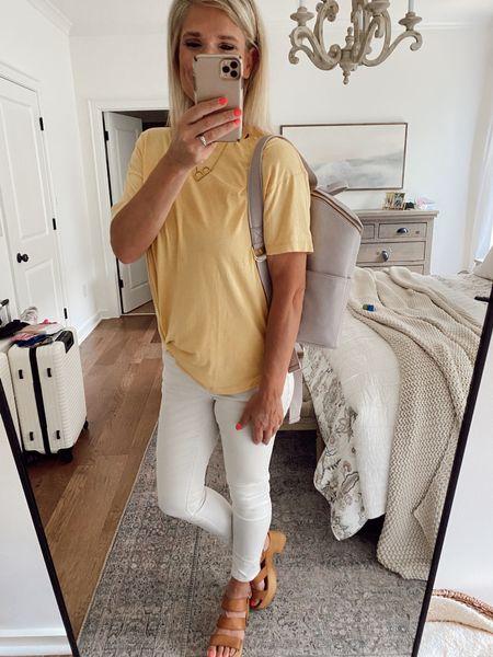 Fall outfit // High rise super skinny jeans   #LTKunder100 #LTKSale #LTKsalealert