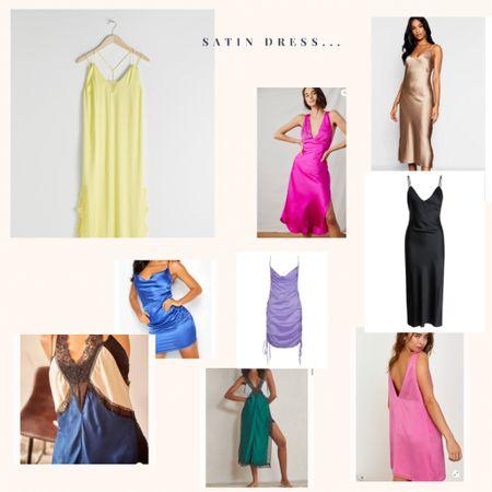 Satin dresses 🥰  #LTKSeasonal #LTKwedding #LTKeurope