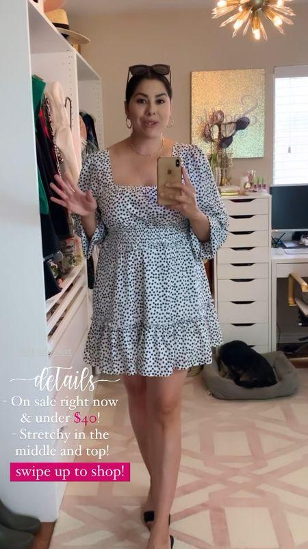 Black and white cocktail dress, square neck dress, missguided dress  #LTKGiftGuide #LTKSale #LTKDay