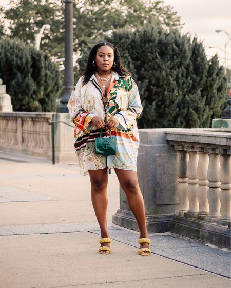http://liketk.it/3kghD @liketoknow.it #liketkit #LTKshoecrush #LTKstyletip #LTKunder50 steve maden, mules, braided sandals, shirt dress, summer outfit