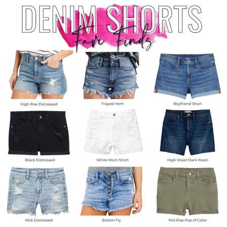 http://liketk.it/3g676 #liketkit @liketoknow.it #shorts #jeanshorts #denimshorts Denim Shorts Fave Finds