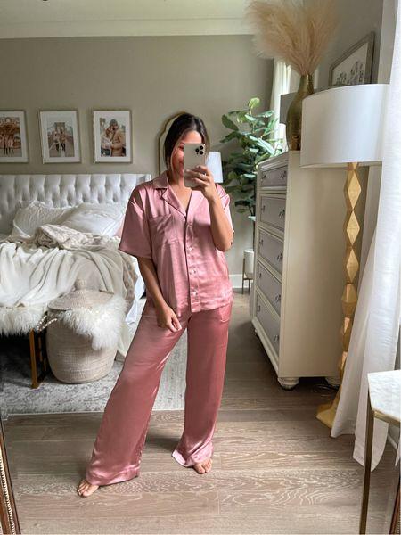 Last day to take 25% off everything including sale @SOMA! #pajamas #pinkpajamas #satinpajamas #nightgown #giftsforher  #LTKDay    #LTKsalealert #LTKGiftGuide #LTKSale