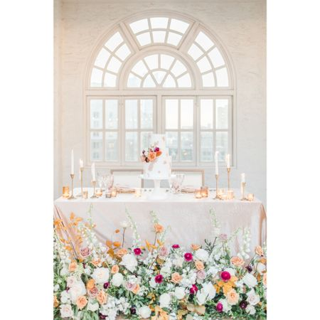 An expensive-looking tablescape doesn't have to be expensive 💁🏻♀️ the tapered candlesticks, votive holders, and blush glasses are all from target and Walmart!   #LTKFall #LTKwedding #LTKunder50