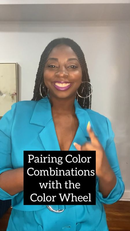 Here's a great way to use the color wheel to make color blocking goodness. #colorblocking #stylevideo #summeroutfit   #LTKsalealert #LTKstyletip #LTKunder50