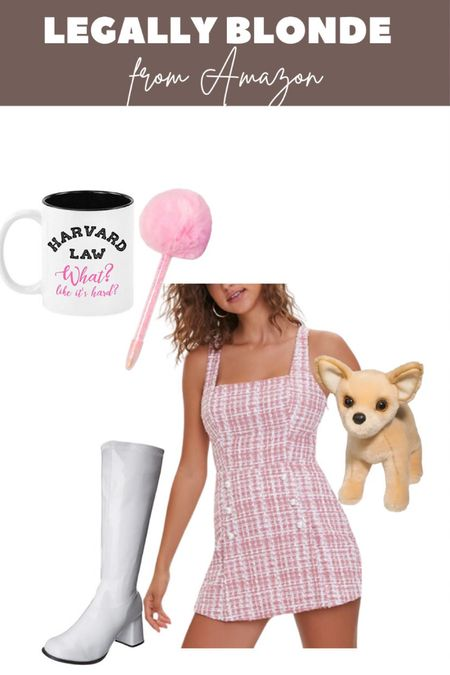 Legally blonde Elle woods costume from Amazon