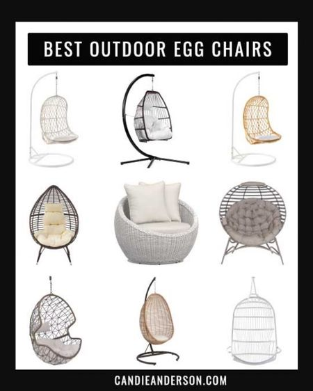 Outdoor egg chairs. Teardrop chairs. Patio chairs. Patio swing. Swing chair. Hanging chair. Hanging outdoor chair. Outdoor hanging chair. Outdoor egg chair. ❤️ http://liketk.it/3gQF3 #liketkit @liketoknow.it #ltkseasonal #LTKhome Home Depot finds. World market patio furniture. Pottery barn finds. Pottery barn outdoor chairs. Wayfair outdoor chairs. Serena & Lily outdoor chair.  @liketoknow.it.home Shop your screenshot of this pic with the LIKEtoKNOW.it shopping app Shop my daily looks by following me on the LIKEtoKNOW.it shopping app