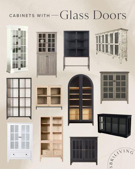 F I N D S \ Cabinets w/glass doors👌🏻  #cabinet #shelf #buffet #home #diningroom   #LTKhome