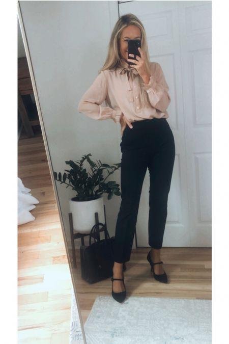 Business casual outfit   #LTKshoecrush #LTKworkwear #LTKunder100