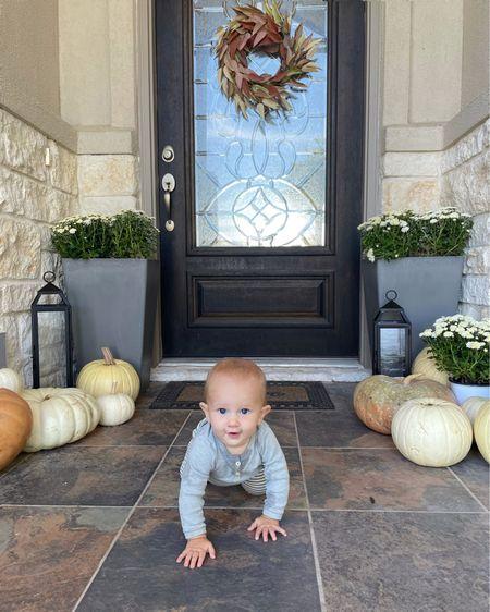 Fall front porch update with #walmarthome @walmart #ad  all linked in my stories 🎃 🍁 #homedesign #betterhomesandgardens #walmarthome #pumpkinpatch #pumpkinseason #fallisintheair #falldecor #pumpkinspiceeverything #homedecor #homedecoration   #LTKhome #LTKHoliday #LTKsalealert