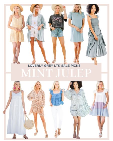 So many good finds from mint julep on sale right now! Loving all these summer dresses.   #LTKsalealert #LTKDay #LTKstyletip