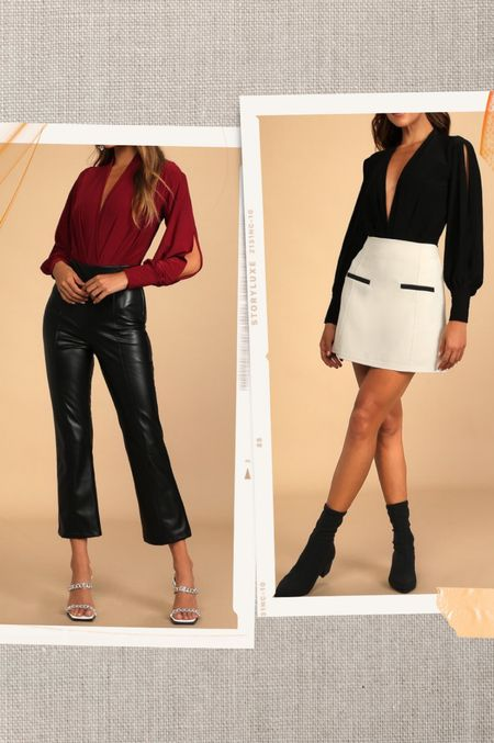 Most have bodysuit for fall! Can be dressed up or down.   #LTKstyletip #LTKSeasonal #LTKworkwear