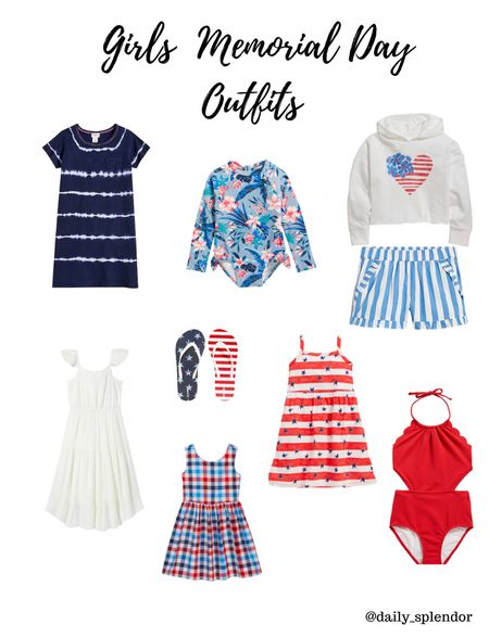 Red white and blue girls outfits. Memorial days clothes   #redwhiteandblue #girls4thofjuly #july4   #LTKfamily #LTKkids #LTKSeasonal