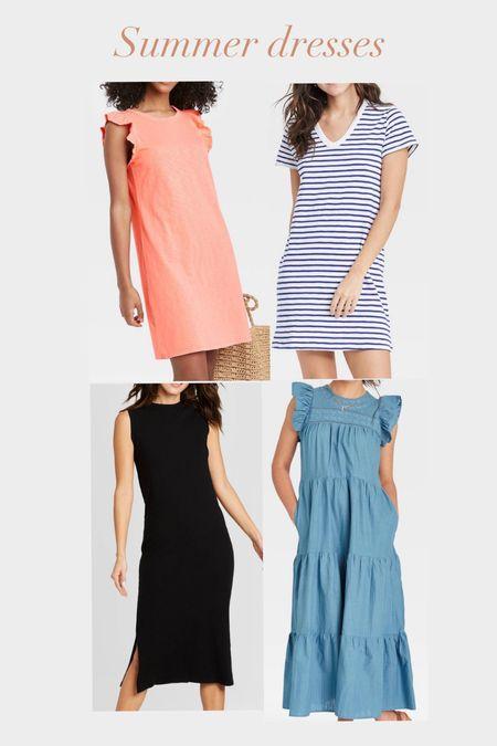 Summer dresses Target finds  #bumpfriendly   #LTKstyletip #LTKunder50