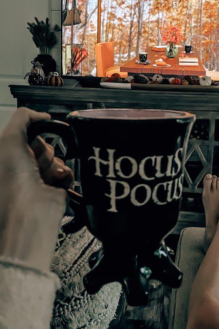 Fall vibes mug HOCUS POCUS   #LTKhome #LTKHoliday #LTKSeasonal