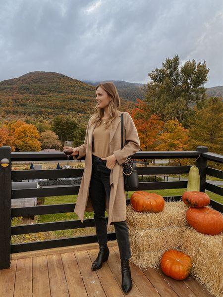 Fall camel coat outfit   #LTKSeasonal #LTKstyletip