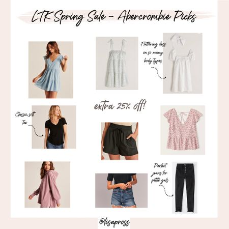 Tons of cute picks from abercrombie - 25% off through the LIKEtoKNOW.it app spring sale. http://liketk.it/3cDnP #liketkit @liketoknow.it #LTKSpringSale #LTKunder100