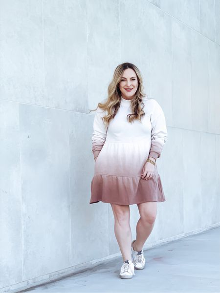 This under $30 Ombré sweatshirt dress is all that and a bag of chips! Just sayin 💋     #LTKunder50 #LTKSeasonal #StayHomeWithLTK