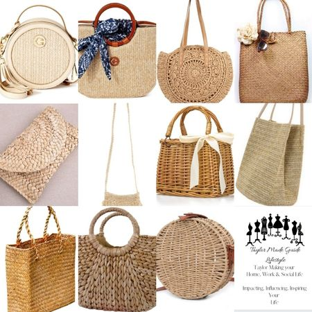 These straw, rattan, wicker bags are the perfect accessory for the season.    http://liketk.it/3gSxx @liketoknow.it #liketkit #LTKstyletip #LTKitbag #LTKunder50 Download the LIKEtoKNOW.it app to shop this pic via screenshot