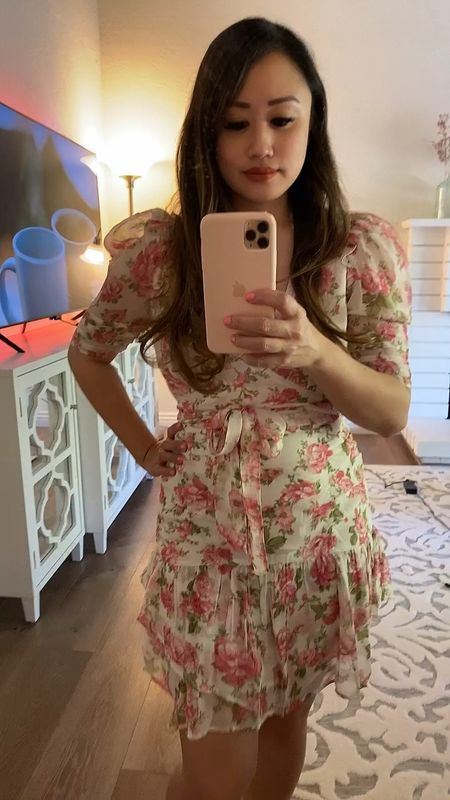 This feminine Spring dress has been in my list for quite some time 🌸 Perfect for a day date or picnic in the park.   #LTKstyletip #LTKSeasonal #LTKSpringSale