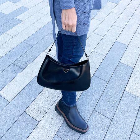 Favorite bag and boots for fall 🙌😍❤️🍁  #LTKitbag #LTKstyletip #LTKshoecrush