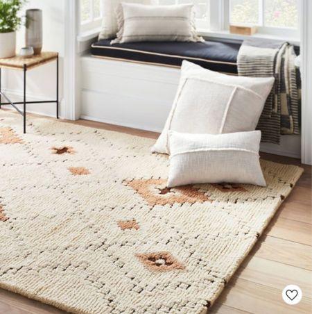 I'm dying over this boho area rug 🤩 Comes in several size options and it's on sale!  #LTKunder50 #LTKhome #LTKsalealert